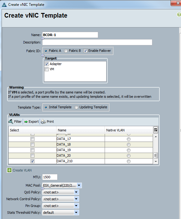 Cisco Qos Template