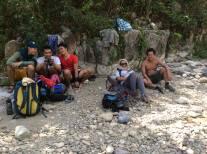 Waiting for Resbaks at Tinipak River