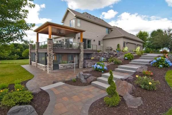 back yard patio design idea Exterior Home Renovations Gallery   James Barton Design-Build