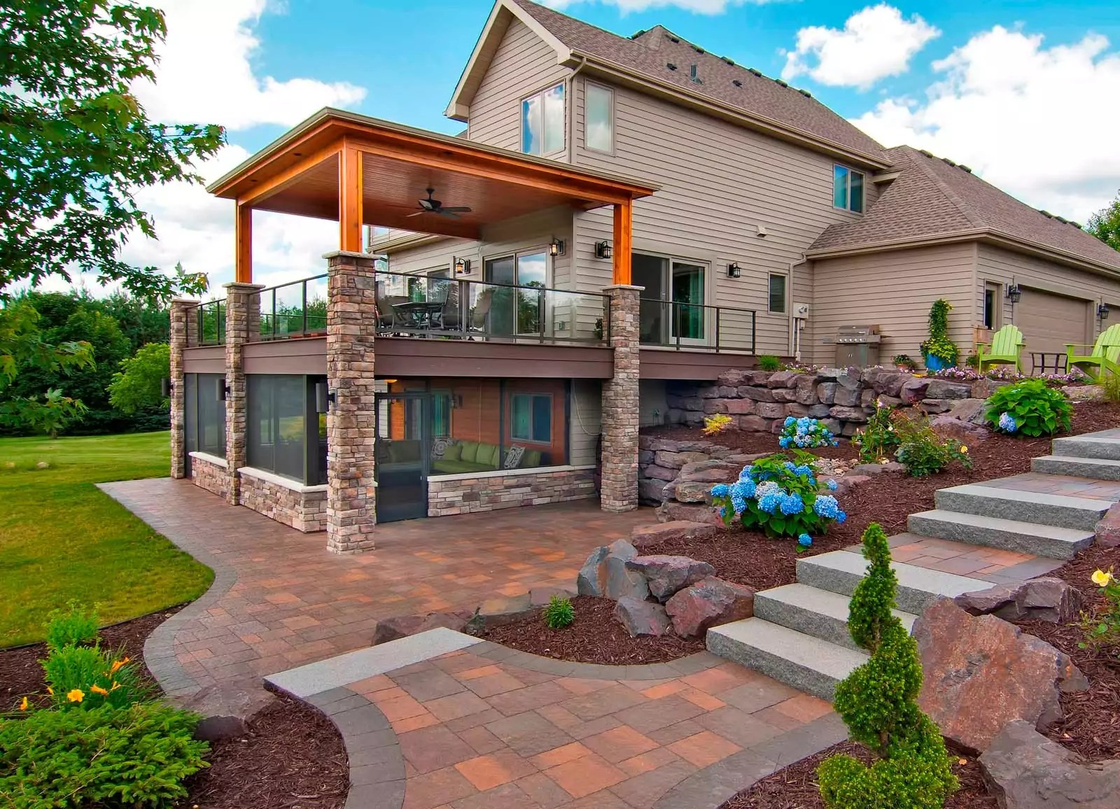 Outdoor Living Space Remodeling Services | James Barton ... on Garden Living Space id=94742