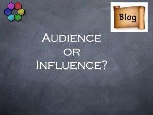 Audience or Influence?