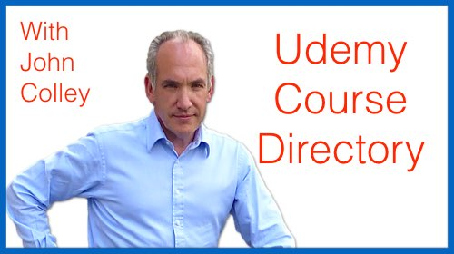 Udemy Course Directory