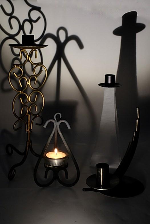 Kerzenstaender in Form