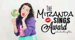 miranda sings award