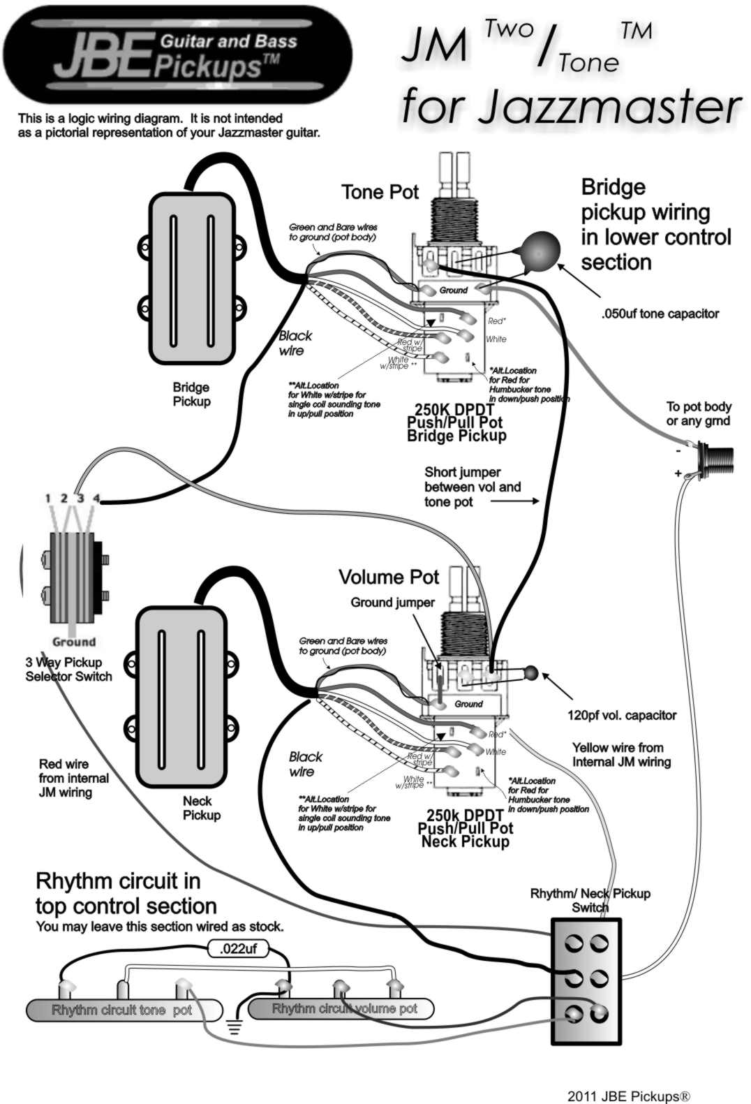 Wiring Diagram For Pickups