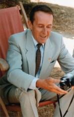 À Barfleur, en Normandie, en août 1983 pour les fiançailles de sa dernière fille, Christine