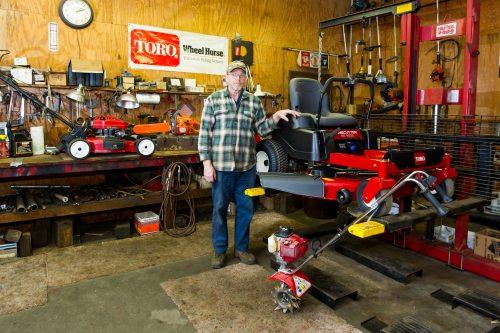 jb hostetter lawn equipment maintenance