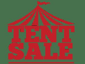 2017 Tent Sale