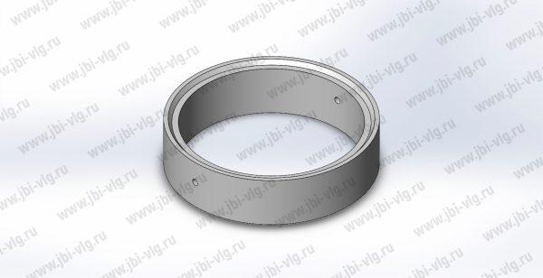 Кольцо для колодца КС 10.3 железобетонное с замком по ГОСТ 8020-2016