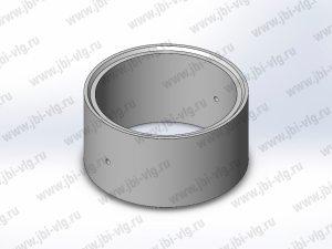 Кольцо для колодца КС 10.6 железобетонное с замком по ГОСТ 8020-2016