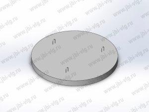 Плита днища колодца ПН 15 железобетонная по ГОСТ 8020-2016
