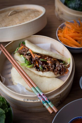 Chinese steamed buns 2