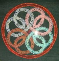 Celtic Circle 1 2009, Published in the October 2009 issue of Lace magazine, No. 136