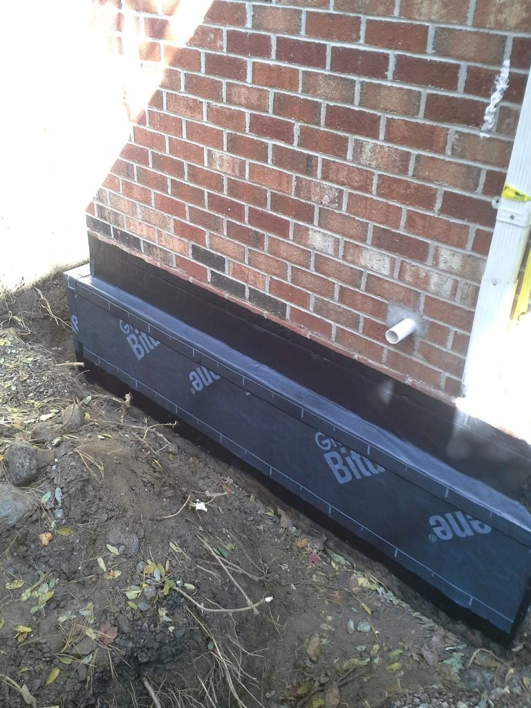 Drainage-Commercial-FoundationDrain-During
