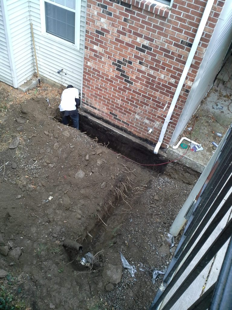 Drainage-Commercial-FoundationDrain-Trench
