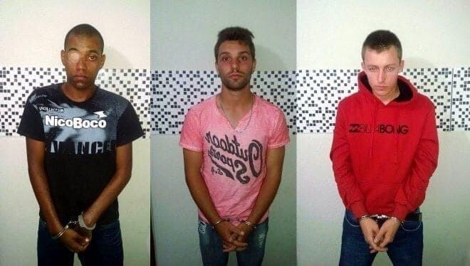 Trio é preso suspeito de tráfico de drogas em Morretes 1