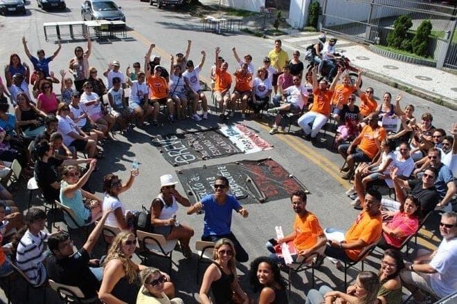 """""""Carteiraço"""" mobiliza professores, alunos e funcionários da Unespar 1"""