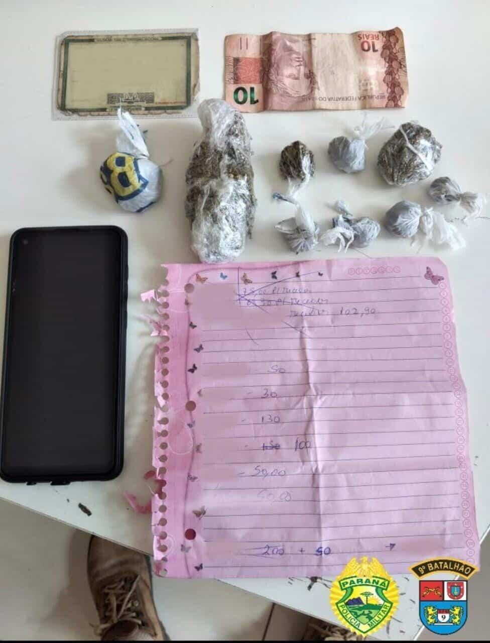Suspeito de tráfico de drogas em Guaratuba é preso em abordagem da PM 1
