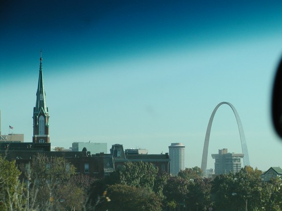 Arch from afar