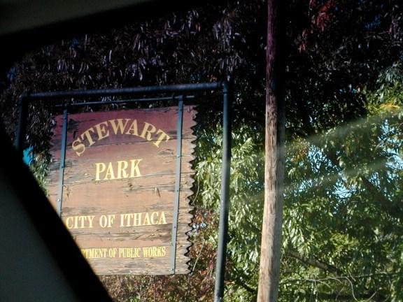 Stewart Park Sign