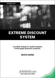 Extreme Discount System – A Portfolio Strategy For Stocks