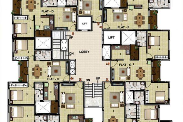 Floor plan Residencial