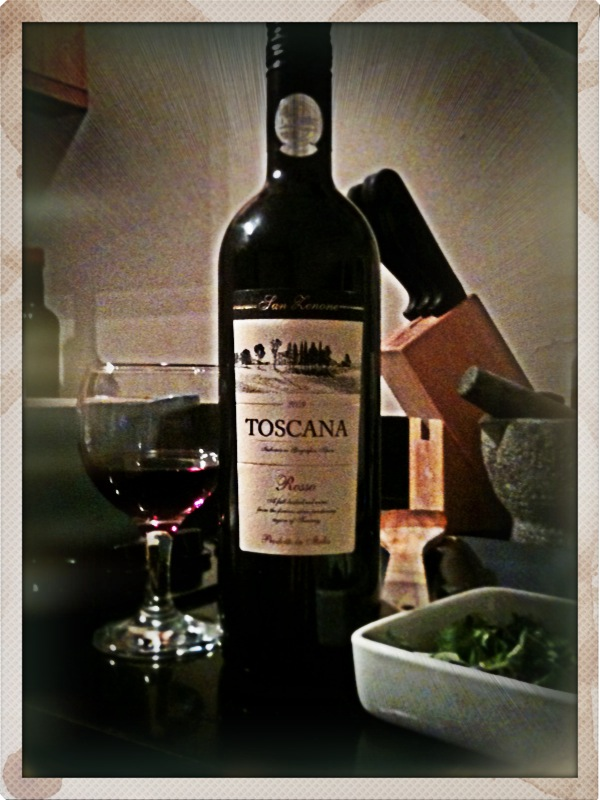 The Wine Corner: Aldi Toscana Rosso, paired with Tomato and Bacon Pasta