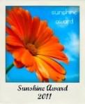 The February Sunshine Award!