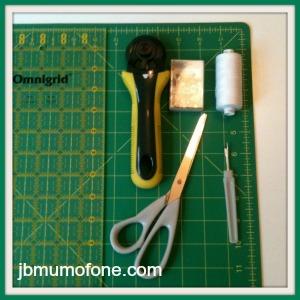 Basic quilting materials