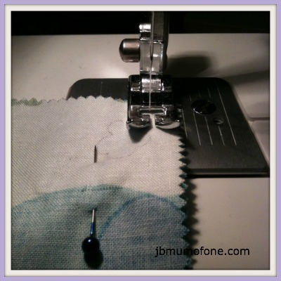 Half an  inch seam allowance