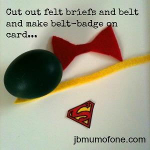 Superman pieces