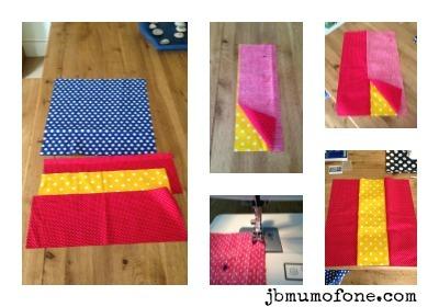 How to make a simple drawstring bag