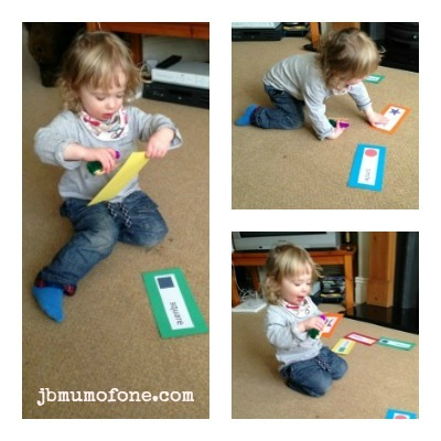 Learning shapes with Toddlers