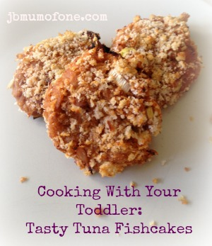 Cooking With Your Toddler: Tasty Tuna Fishcakes