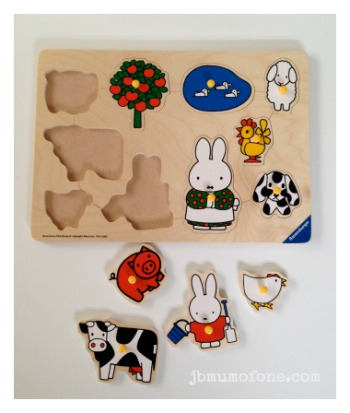 Miffy Wooden Puzzle