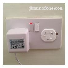 Cover empty plug sockets