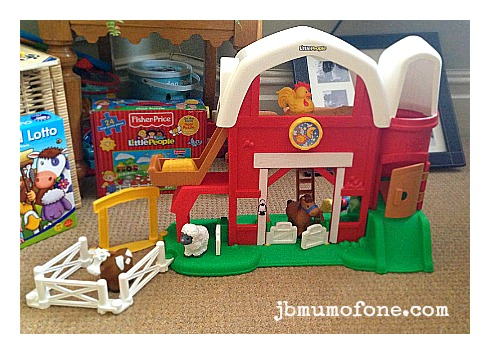 Review Fisher Price Little People Fun Sounds Farm Mum Of One