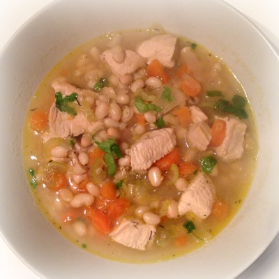 5:2 Diet: Chicken and White Bean Stew