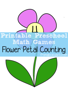 Preschool-Math-Games-Flower-Petal-Counting