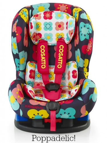 Prize Draw: Win the New Hootle Car Seat From Cosatto