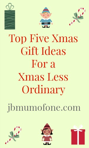 Top Five Xmas Gift Ideas