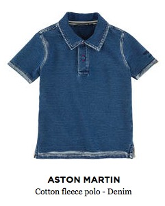 Aston Martin Cotton Fleece Polo