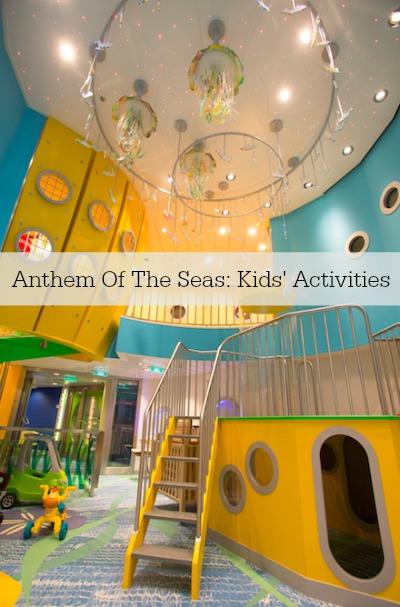 Anthem Of The Seas Kids' Activities
