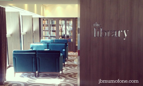 Anthem of the Seas: The Library