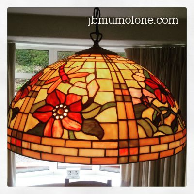 3 Bulb Tiffany Pendant Shade