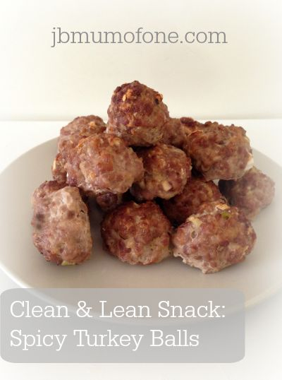 Clean and Lean: Sweet Chilli Turkey Balls