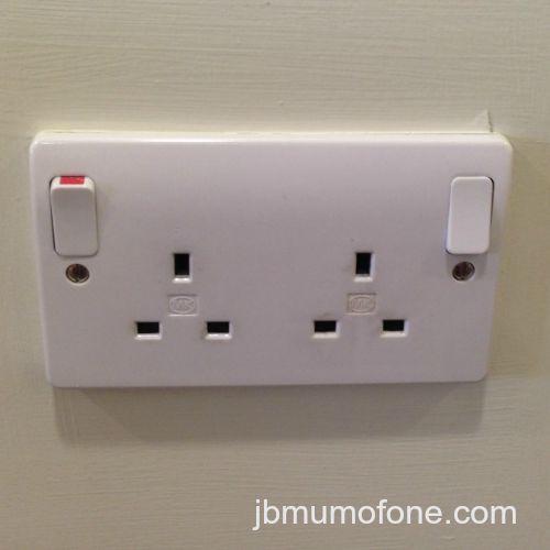 empty plug socket