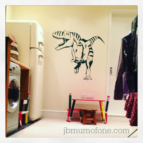 Big Dinosaur Icon Wall Stickers