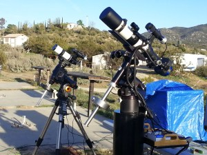 Televue NP101, AstroTech 65