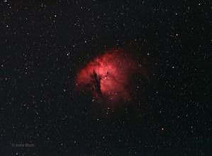 Pacman Nebula, NGC 281, IC 11, SH2-184